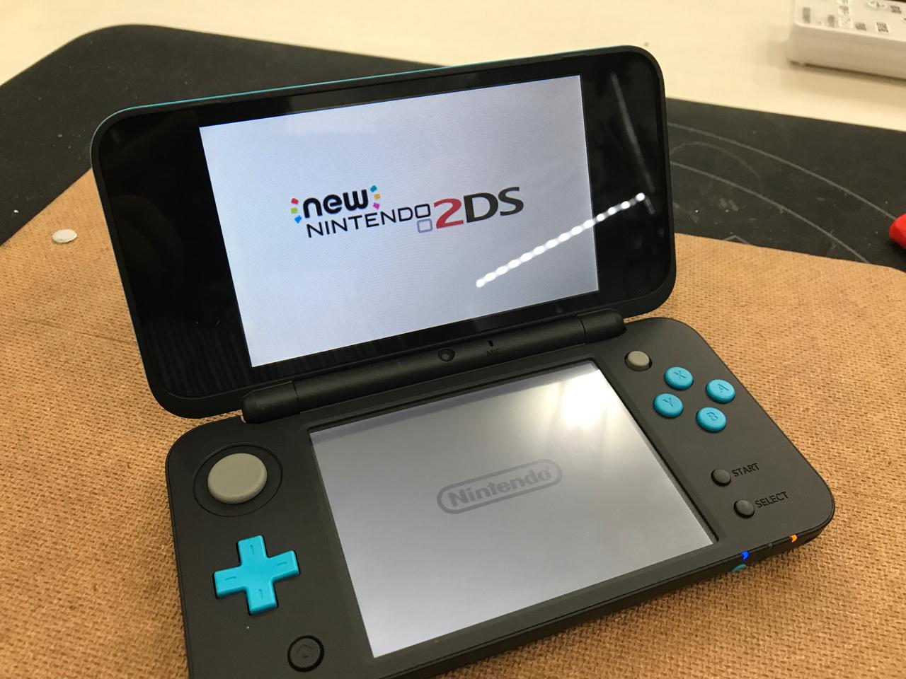 New NINTEDO 2DS LL 分解!!